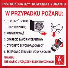 Instrukcja obsługi hydrantu