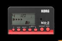 KORG metronom elektroniczny MA-2 czarno-czerwony
