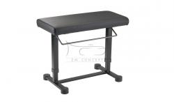 K&M 14080 ława fortepianowa pneumatyczna, czarna