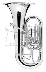 BESSON tuba Eb Sovereign BE983-S posrebrzana, 4 wentyle front action, z futerałem