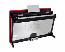 BLUETHNER pianette ART-LINE projektu Poula Henningsena, z modułem Bluetooth Audio