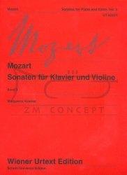 Mozart, Wolfgang Amadeus: Sonaty, Tom 3: na skrzypce i fortepian