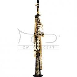 YAMAHA saksofon sopranowy Bb YSS-875 EXB czarny lakier, z futerałem