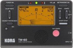 KORG metro-tuner chromatyczny TM60 black