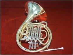 JOSEF LIDL waltornia pojedyncza F LHR321, złoty mosiądz, bez futerału