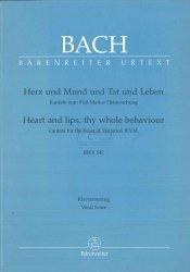 Bach Jan Sebastian: Herz und mund und Tat und Leben BWV 147