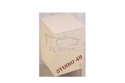 STUDIO49 Cajon CJ 450 z dwoma rezonansami, wymiary 30 x 30 x 45 cm