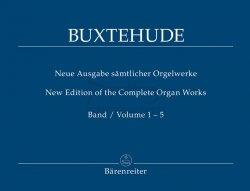 Buxtehude, Dietrich Neue Ausgabe sämtlicher Orgelwerke, Band 1-5 komplett