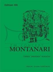 Montanari, Antonio Maria: The 3 Dresden Sonatas: na skrzypce i bc