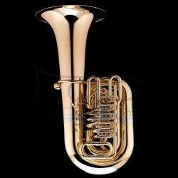 WESSEX tuba C Mahler model TC470L lakierowana, 4/4, wentyle obrotowe, z futerałem