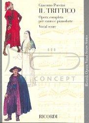 Puccini, Giacomo: IL TRITTICO: głosy i Wyciąg fortepianowy (EN/IT)
