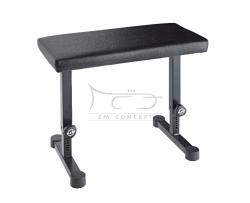 K&M 14085 ława fortepianowa, czarna