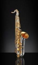 RAMPONE&CAZZANI saksofon tenorowy R1 JAZZ, 2008/J/AUG, Vintage Silver and Gold