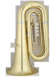 ANDREAS EASTMAN tuba Bb EBB562, PROFESSIONAL, 4/4, 4 wentyle obrotowe, lakierowana, z futerałem