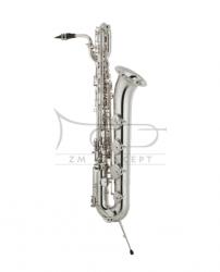 YAMAHA saksofon barytonowy Eb YBS-82S custom, posrebrzany, z futerałem