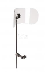 K&M 11905 ekran akustyczny z plexi do siedzeń z oparciem