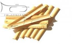 MARIGAUX drewno niefasonowane do stroików oboju 10.5 plus (10 szt.)