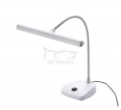 K&M 12297 lampka do pianina - 12 LED, kolor biały