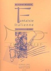 Bozza E.: Fantaisie Italienne: na saksofon altowy i fortepian