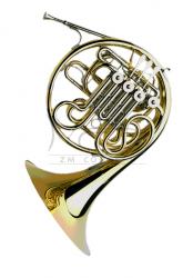 PAXMAN waltornia F/Bb Model 20, full double horn, lakierowana, rozkręcana czara medium, z futerałem