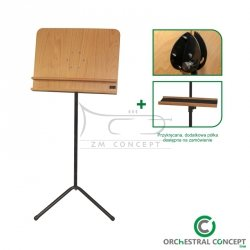 ORCHESTRAL CONCEPT Pulpit orkiestrowy drewniany STAND NATURAL/BLACK