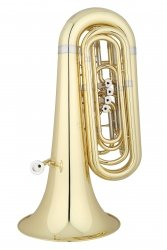 ANDREAS EASTMAN tuba Bb EBB324, STUDENT, 3/4, 4 wentylowa, lakierowana, z futerałem