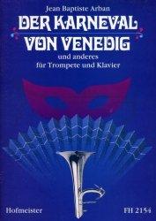 Arban, Jean Baptiste, Der Karneval von Venedig und anderes (Karnawał w Wenecji i inne), na trąbke i fortepian