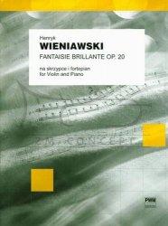 Wieniawski, Henryk: Fantaisie brillantesur des motifs de l'opéra  Faust de Gounod op. 20 na skrzypce i fortepian