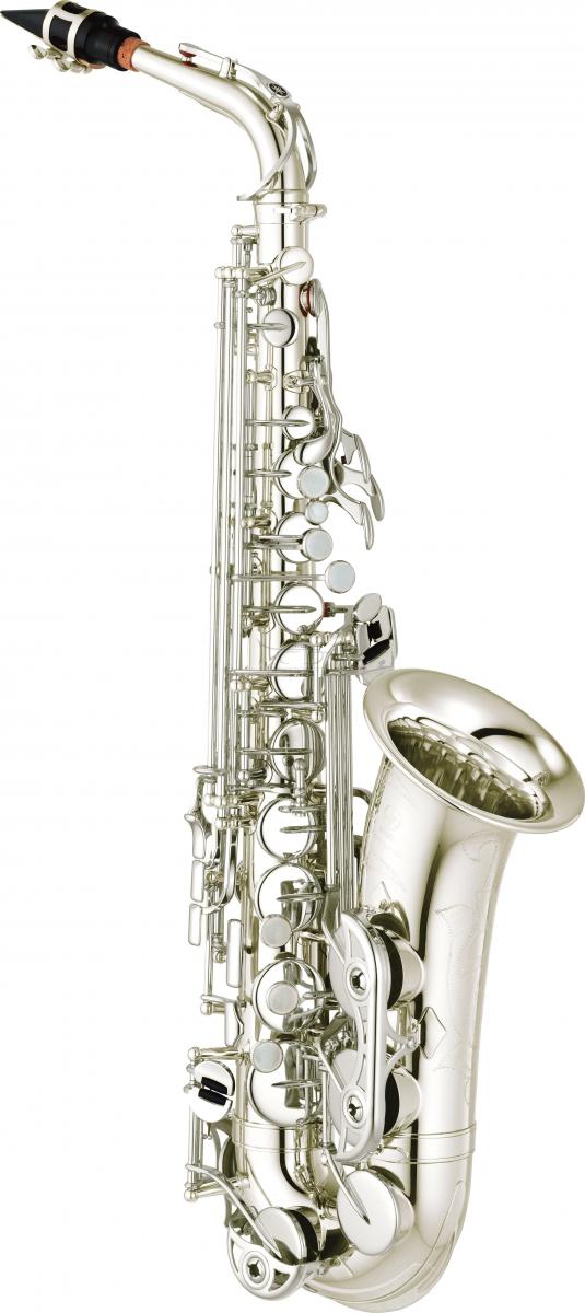 YAMAHA saksofon altowy YAS-480S posrebrzany, z futerałem