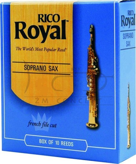 RICO ROYAL stroiki do saksofonu sopranowego - 1,0 (10)