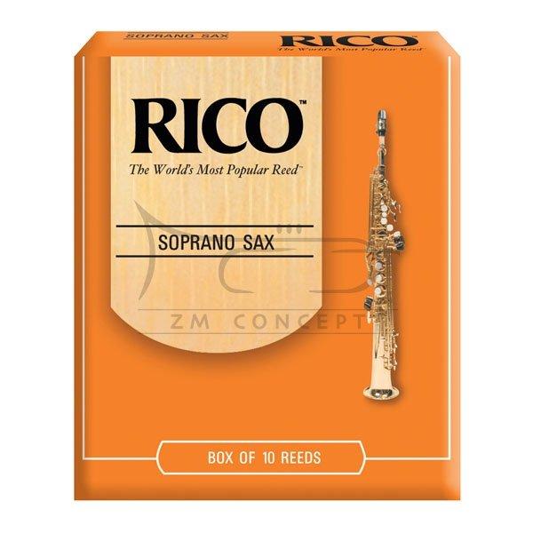 RICO stroiki do saksofonu sopranowego - 2,5 (10)