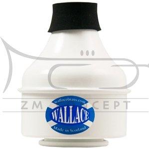 WALLACE Aluminium trumpet wah wah mute TWC 501S biały