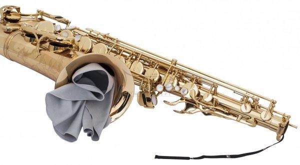 BG A30L wycior do saksofonu tenorowego z obciążnikiem mikrofibra