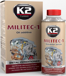 K2 T380 Militec-1 ceramizer silnika typu Motor-Life 250ml