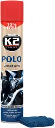 K2 POLO COCKPIT WIŚNIA + MIKROFIBRA 750ml do kokpitu