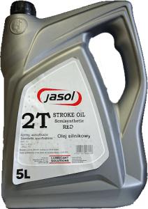 JASOL 2T Stroke OIL  Semisynthetic TC  5L czerwony