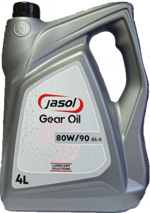 JASOL Gear OIL GL-5 80W90  4L