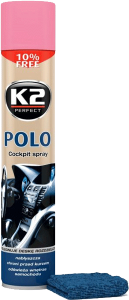 K2 POLO COCKPIT WOMAN + MIKROFIBRA 750ml do kokpitu