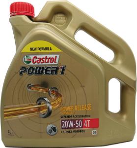 CASTROL Power 1 4T 20W-50 4L SL MA2