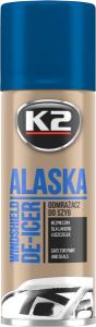 K2 ALASKA K602 Odmrażacz do szyb spray 250ml