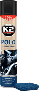 K2 POLO COCKPIT FAHREN + MIKROFIBRA 750ml do kokpitu
