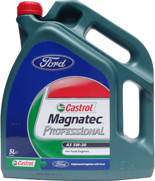 CASTROL MAGNATEC PROFESSIONAL 5W-30  A5 LOGO FORD 5L