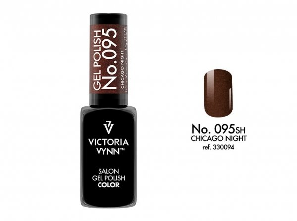Victoria Vynn Lakier hybrydowy 095sh 8ml CHICAGO NIGHT Gel Polish COLOR Victoria Vynn