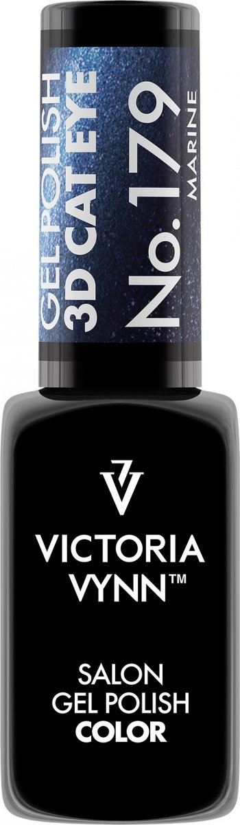 Victoria Vynn Lakier hybrydowy 179 8ml 3D CAT EYE MARINE Polish Gel  3D CAT EYE Victoria Vynn