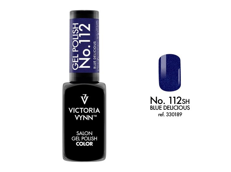 Victoria Vynn Lakier hybrydowy 112 8ml Blue Delicious Gel Polish COLOR Victoria Vynn