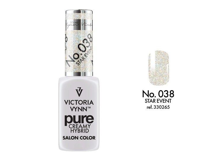 Victoria Vynn Pure Creamy Hybrid 038 Star Event Kremowy lakier hybrydowy