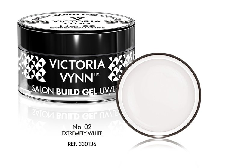 Victoria Vynn Żel budujący No. 02 50ml EXTREMELY WHITE Build Gel