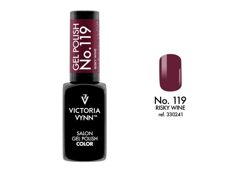 Victoria Vynn Lakier hybrydowy 119 8ml Blue Risky Wine Gel Polish COLOR Victoria Vynn