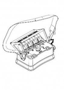 Zdalne sterowanie radiowe  3 Funkcyjny BELLY-BOX