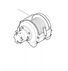 Wyciągarka Hydraulicznadla wersji ECI i D  ML 270
